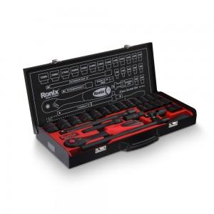 جعبه بکس 28 پارچه 6 پر رونیکس مدل RH-2628