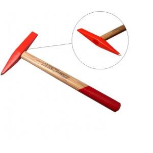 چکش پوسته زدای جوش 300 گرمی دسته چوبی ایران پتک مدل AD 3010