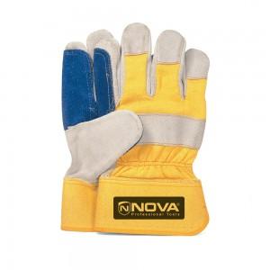 دستکش چرمی کف دوبل نووا مدل NTG9001