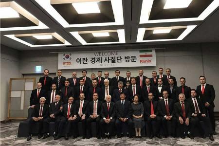 بازدید هیات کاری رونیکس از کارخانه جیت کره جنوبی