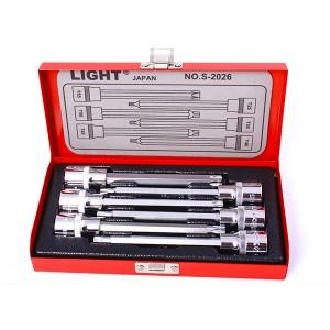 جعبه بکس بلند ستاره ای 6 پارچه 1/2 درایو لایت مدل LIGHT S 2026
