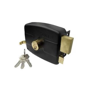 قفل درب حیاطی طرح ایزو کلید ساده تنسر مدل TDL-N-212