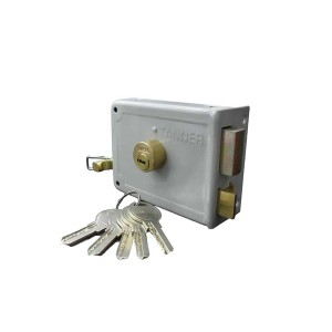 قفل درب حیاطی طرح ژوییل کلید کامپیوتری تنسر مدل TDL-Y-323