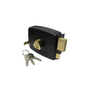 قفل درب حیاطی طرح کالی کلید ساده تنسر مدل TDL-N-112