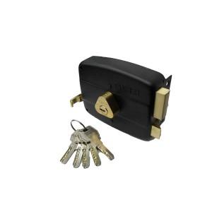 قفل درب حیاطی طرح کالی کلید کامپیوتری تنسر مدل TDL-N-122