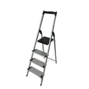نردبان خانگی آلومینیومی 4 پله پهن آریس