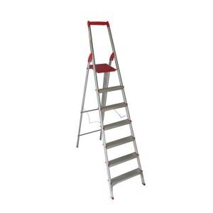 نردبان خانگی آلومینیومی 7 پله معمولی آریس