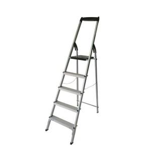 نردبان خانگی آلومینیومی 5 پله معمولی آریس