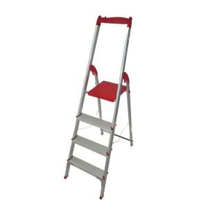 نردبان خانگی آلومینیومی 4 پله معمولی آریس