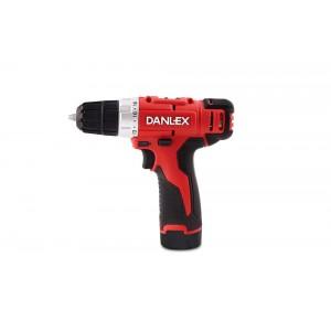 دریل پیچ گوشتی شارژی 12 ولت دنلکس مدل 6112 DANLEX