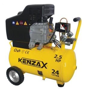 KENZAX KAC 124 کمپرسور 24 لیتری کنزاکس