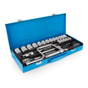 جعبه بکس 1.2 اینچ، 24 پارچه نووا مدل NTS7001