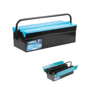 جعبه ابزار فلزی زانکو دو طبقه 50 سانت مدل Z-MTB502