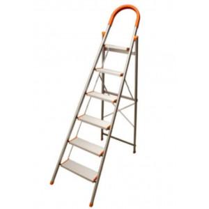 نردبان 6 پله آلومینیوم سیلور SILVER