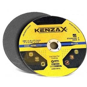 سنگ برش استیل بر کنزاکس 180*1.6 مدل KENZAX KCS1180