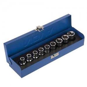 جعبه بکس 1/2 اینچ 9 پارچه نووا کد E7013