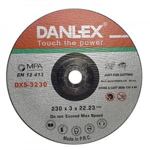 دنلکس صفحه سنگ برش فیبری دو کاره (آهن و استیل) 22.2*3*230 کد DXC-3230